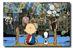 Peanuts Grateful Dead