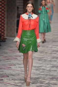 Gucci Ready to Wear Spring 2016 | WWD