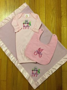 personalized baby gown monogram baby gown personalized burp cloth