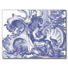 =>>Cheap          	Elegant Blue French Baroque Toile Post Card           	Elegant Blue French Baroque Toile Post Card in each seller & make purchase online for cheap. Choose the best price and best promotion as you thing Secure Checkout you can trust Buy bestDeals          	Elegant Blue French...Cleck Hot Deals >>> http://www.zazzle.com/elegant_blue_french_baroque_toile_post_card-239087749122853819?rf=238627982471231924&zbar=1&tc=terrest
