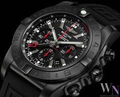 BREITLING - Chronomat GMT Blacksteel