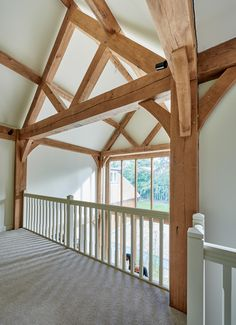 Berkshire Barn - Border Oak - oak framed houses, oak framed garages and structures. Pole Barn House Plans, Pole Barn Homes, Metal Building Homes, Building A House, Border Oak, Oak Framed Buildings, Oak Frame House, Interior Design Layout, Self Build Houses