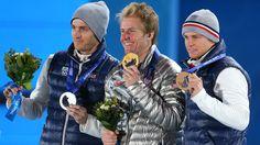 Gold for Tedd Ligety in men's super-G
