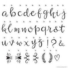 Lightbox Letter set - Script Letters