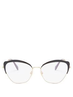 Miu Miu, Cat Eye Glasses, Glasses Frames, Eyeglasses, Chloe, Women Wear,  Gucci, Eyes, Contrast 0c9da8bd19