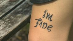 Student's tattoo sparks conversation about depression