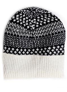 Dash Dot Wool Hat