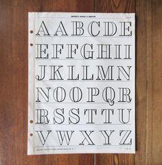vintage typography alphabet - Google Search