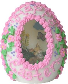 Sugar egg...remember these? You could peek inside to see an Easter scene.