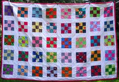 All hand quilted.