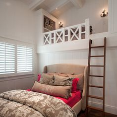 Coastal Bedroom by Anne Sneed Architectural Interiors