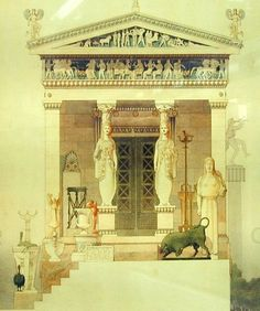 Siphnian Treasury  Delphi, Greece 525 BCE