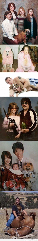 Extremely Awkward Family Photos