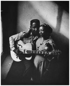 Photo Art Shay - Muddy Waters, 1950