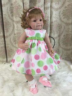 "Lee Middleton Artist Studio Doll ""It's My Party"" Full Vinyl Toddler in Dolls & Bears, Dolls, By Brand, Company, Character | eBay"