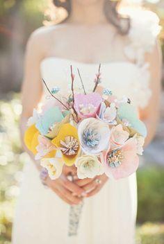 classyinmycoffee:    Paper Bouquet