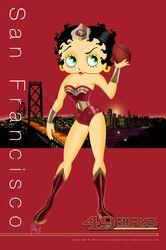 Betty Boop - Slgados do Baiano e CIA