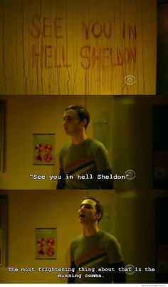 """See you in hell, Sheldon"" meme"
