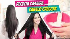 RECEITA CASEIRA PARA O CABELO CRESCER MAIS RÁPIDO!!! por Julia Doorman