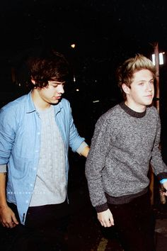 Harry and Niall in Ghana