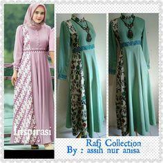 Batik Fashion, Abaya Fashion, Muslim Fashion, Women's Fashion Dresses, Dress Outfits, Model Dress Batik, Batik Dress, Blouse Batik Modern, Hijab Style Dress
