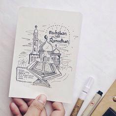 Marhaban ya ramadhan Poster Ramadhan, Ramadhan Quotes, Islamic Inspirational Quotes, Islamic Quotes, Islamic Wallpaper, Typographic Design, Muslim Quotes, Doa, Design Quotes