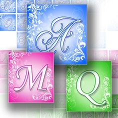 1x1 inch graphic art for scrabble tiles alphabet letters images digital collage sheet jewelry making paper supplies