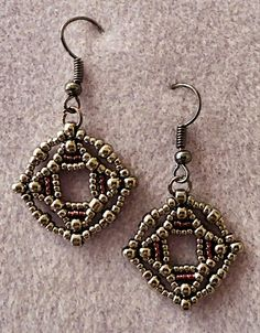 Linda's Crafty Inspirations: earrings