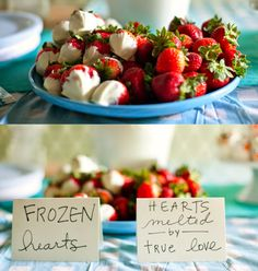 Frozen Hearts-Disney Frozen Party Food Ideas!