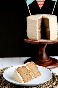 Appelpie cake with karamelbuttercream