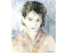 Ton Albers - Aquarellist met hart en ziel » Portretten