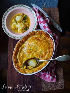 Tasmanian Scallop Pie @ Not Quite Nigella Savory Tart, Savoury Pies, Savoury Recipes, Australian Food, Australian Recipes, Scallop Pie Recipe, Pie Recipes, Cooking Recipes, Curried Sausages