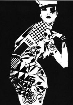 Pierre Louis Mascia #fashion_illustration
