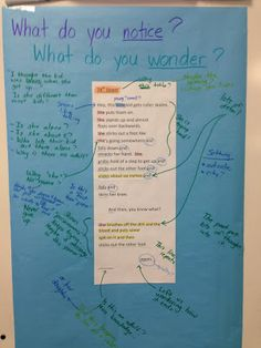 Teaching Deeper Thinking With Poetry:  Common Core- I could use this for harder articles in order to model and teach annotation!