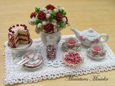 Delicado trabajo de Miniatures Minicler ♡ ♡