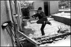Gilles Peress, Northern Ireland, Belfast, Anderstown, The IRA response to Bloody Sunday (the day after). Northern Ireland Troubles, Belfast Northern Ireland, Irish Independence, Time In Ireland, Irish Republican Army, The Ira, Northern Irish, Lest We Forget, Fighting Irish