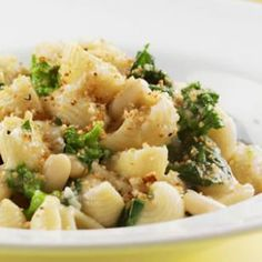 Try this deliciously healthy vegetarian pasta recipe Orecchiette with Broccoli Rabe & Chickpeas from @EatingWell Magazine.