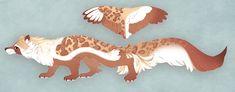Marbled Fox by Sheylu on DeviantArt