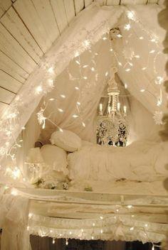 Victorian Sleeping Loft by Sandra Foster