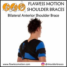 Bilateral Anterior Shoulder Brace info: Part 3  Unique strap placement options enable users to control shoulder and arm positioning by limiting the range of motions that can lead to further injury. The straps can be adjusted for maximum protection or loosened for less support.👇 Buy online at www.flawlessmotion.com 💪💪😃 #shoulder #best shoulder brace #shoulder #shoulderbrace #shoulderdislocation #shoulderinjury #shoulderinstability #shoulderrecovery #shoulderrehab #shouldersurgery… Shoulder Rehab, Shoulder Brace, Shoulder Surgery, Strengthen Shoulders, Shoulder Dislocation, Shoulder Injuries, Rotator Cuff, Injury Prevention, Nice Body