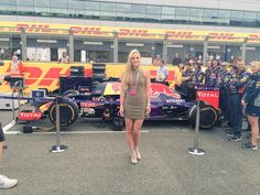 Amazing day at F1! Thx to @redbullracing for the hospitality & congrats @LewisHamilton on an incredible win!