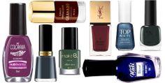 Outono 2014: tons fechados e sóbrios dominam os lançamentos de esmaltes  A temporada outono/inverno está chegando e, com ela, as mudanças na moda manicure. Os esmaltes ganham cores sóbrias - do roxo escuro ao vermelho -, com tons mais fechados e brilho controlado. Um dos efeitos que promete fazer sucesso é o duocromático, com tons prateados combinados com cores escuras. https://www.facebook.com/pages/Unhas-Fast/261417710552915?fref=ts