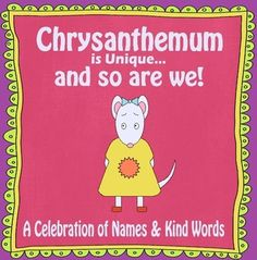 """Chrysanthemum"" Back to School Activities"