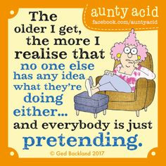 Aunty Acid by Ged Backland for Jan 20, 2017 | Read Comic Strips at GoComics.com