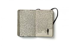 Pep Carrió  / Graphic: Inside the Sketchbooks of the World's Great Graphic Designers #sketchbook