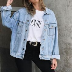 """Groover Babe """"Sagittarius"""" zodiac vintage inspired t-shirt-retro graphic unisex tee- made - Denim Jacket Outfit Fall Outfits, Summer Outfits, Casual Outfits, Hipster Style Outfits, Classy Outfits, Work Outfits, Look Fashion, Fashion Outfits, Latest Fashion"""
