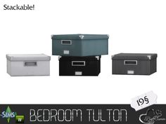 BuffSumm's Tulton Bedroom Deco Box