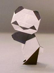 Origami panda - this is cute :-)