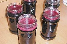 Holunder - Rotwein - Gelee