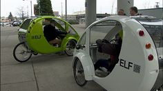 <p>It's a bright idea for a cycle-loving city such as Portland: a tricycle that's powered by both pedals and the sun.</p>
